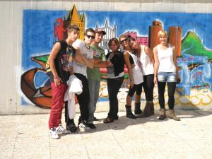 """""""Urban Art"""" foto di gruppo"""