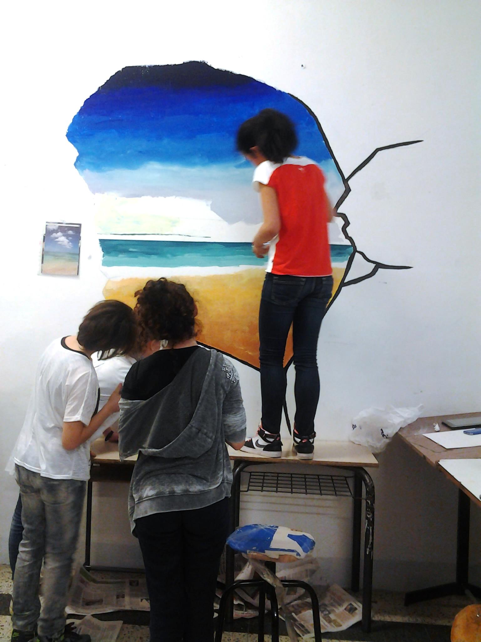 spesso Lezione di pittura studenti medie Massa Marittima TJ84