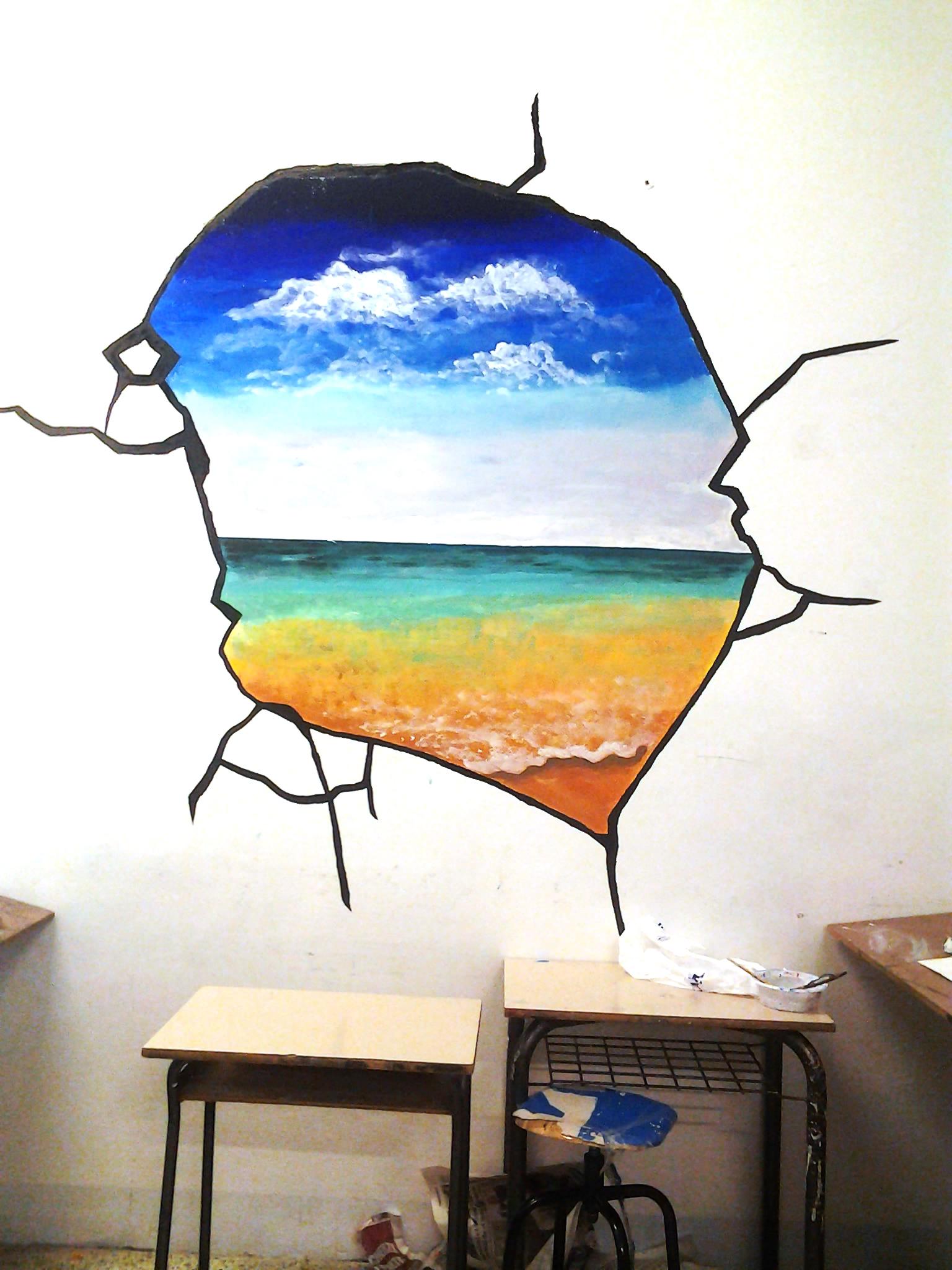 Famoso Lezione di pittura studenti medie Massa Marittima XS48