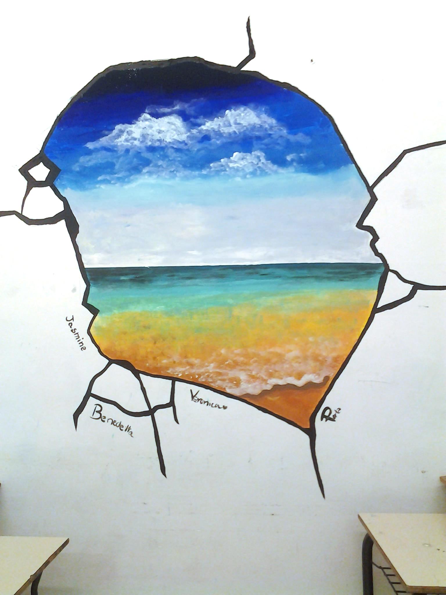 Molto Lezione di pittura studenti medie Massa Marittima JG46