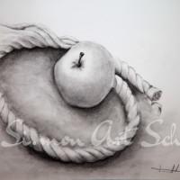 Mela in corda - Michele Tramontano