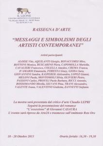 Messaggi e Simbolismi 2013