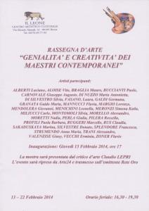 genialità e Creatività 2014