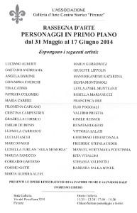 Personaggi in Primo Piano 2014
