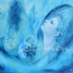 La regina dei ghiacci - 100 x 80